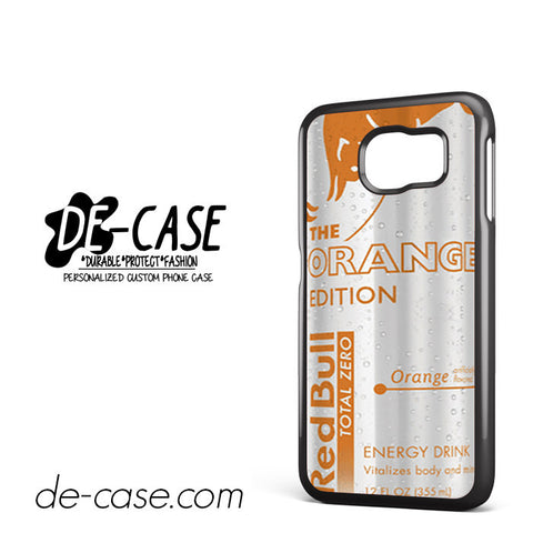 Red Bull Orange Edition For Samsung Galaxy S6 Samsung Galaxy S6 Edge Samsung Galaxy S6 Edge Plus Case Phone Case Gift Present YO