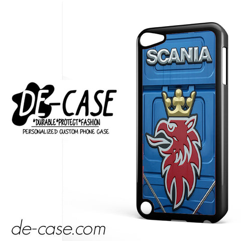 Scania Truck Logo DEAL-9411 Apple Phonecase Cover For Ipod Touch 5