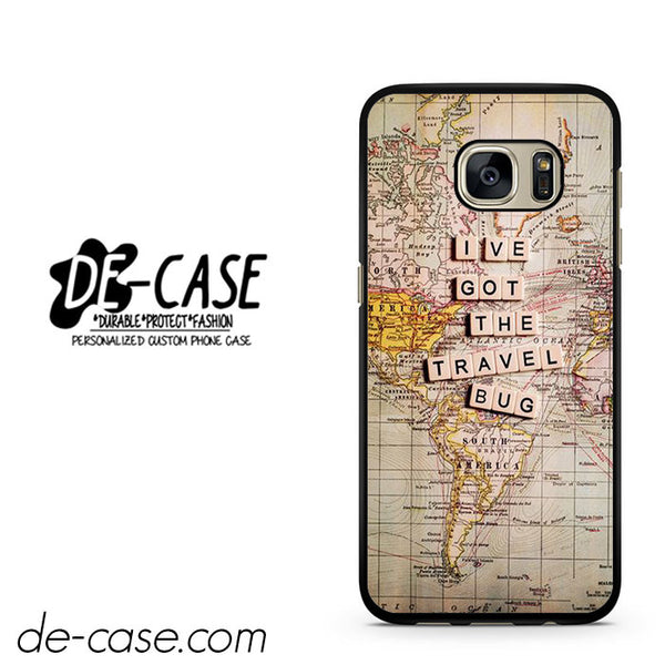 Wanderlust I Ve Got The Bug DEAL-11813 Samsung Phonecase Cover For Samsung Galaxy S7 / S7 Edge