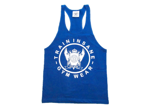 TI Fitness Stringer Vest Blue