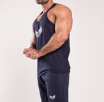 TI Iconic Navy Stringer Vest