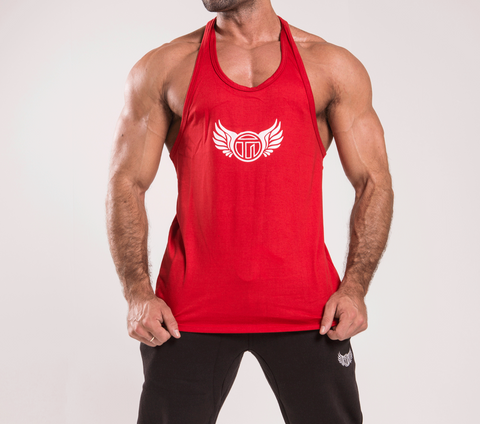 TI Iconic Red Stringer Vest