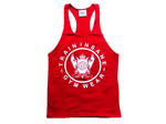 TI Fitness Stringer Vest Red