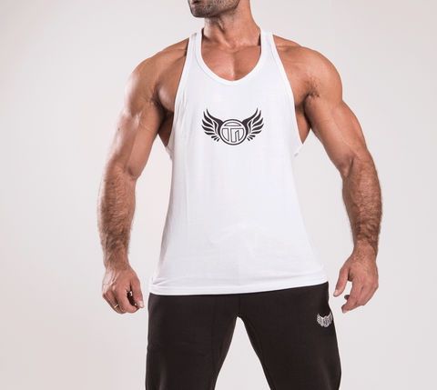 TI Iconic White Stringer Vest