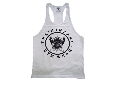 TI Fitness Stringer Vest White