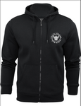 TI Brushed Full Zip Hoodie - Black