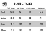TI FlexFit White T-Shirt (Small Logo)