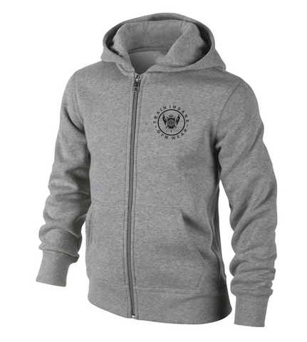 TI Brushed Full Zip Hoodie - Grey Heather