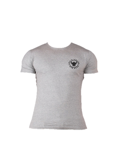 TI FlexFit Grey T-Shirt (Small Logo)