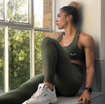 TI Fit Leggings, Khaki