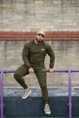 TI Iconic Sweater Khaki