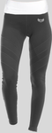 TI Fit Leggings, Black/White