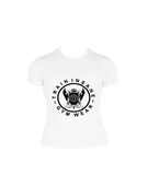 TI FlexFit White T-Shirt (Large Logo)