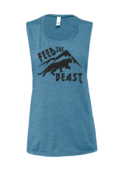 Feed The Beast Muscle Tank