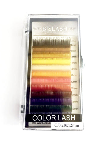 BIS Fransar BISLASH Color Lashes - C