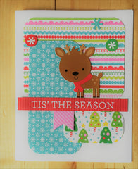 Doodlebug Tis the Season Card