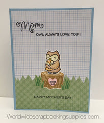 Lawn Fawn Mommy & Me Card