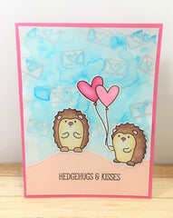 Avery Elle Hedgehugs Card