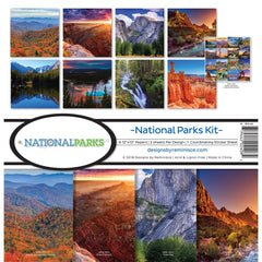 Reminisce - 12x12 Collection Kit - National Parks