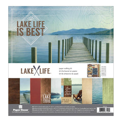 Paper House: Paper Crafting Kit 12x12 - Lake Life
