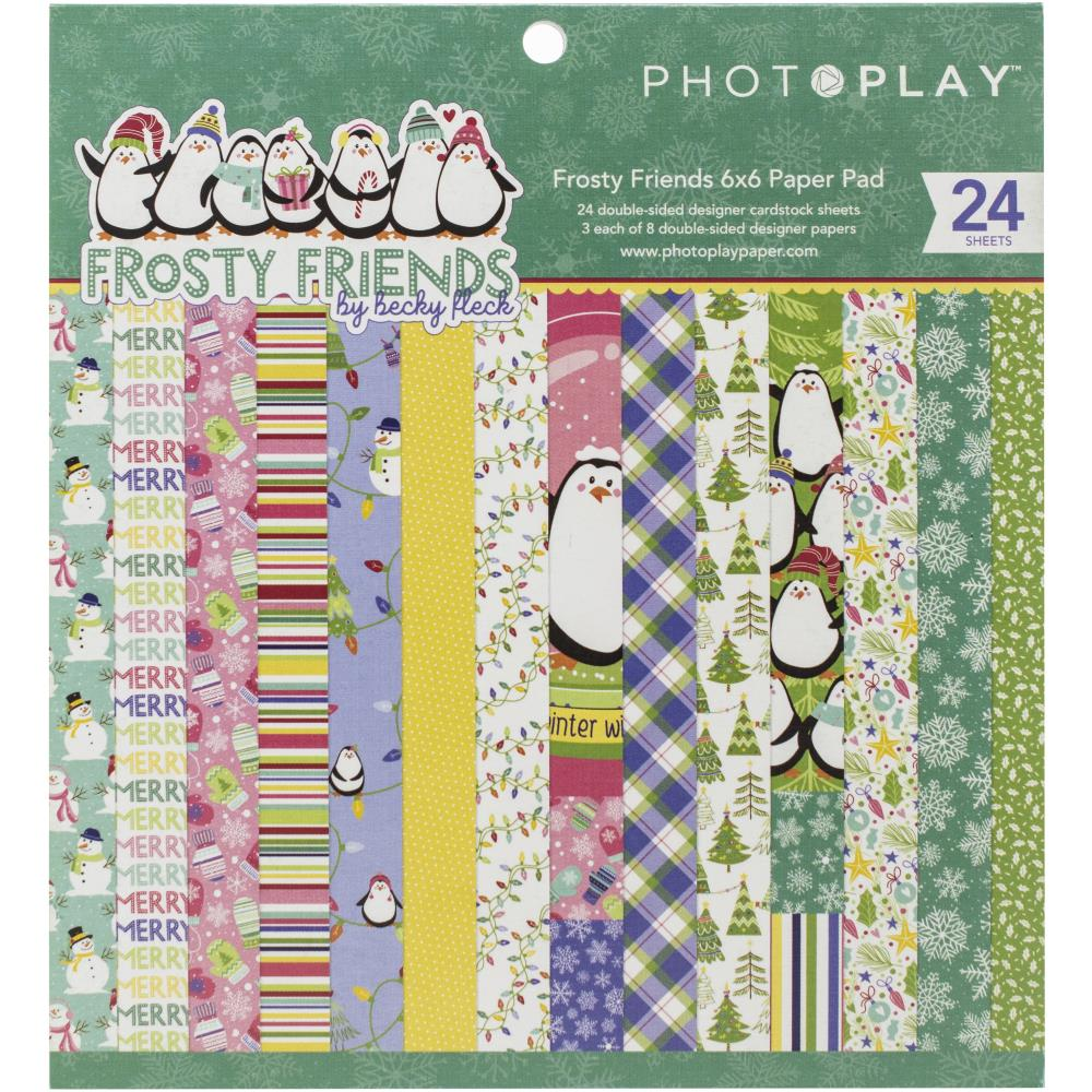 Photo Play-Frosty Friends-6X6 Paper Pack