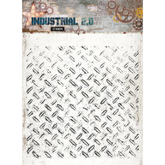 Studio Light Industrial - 5.5 x 5.5 stamp - Diamond Tread