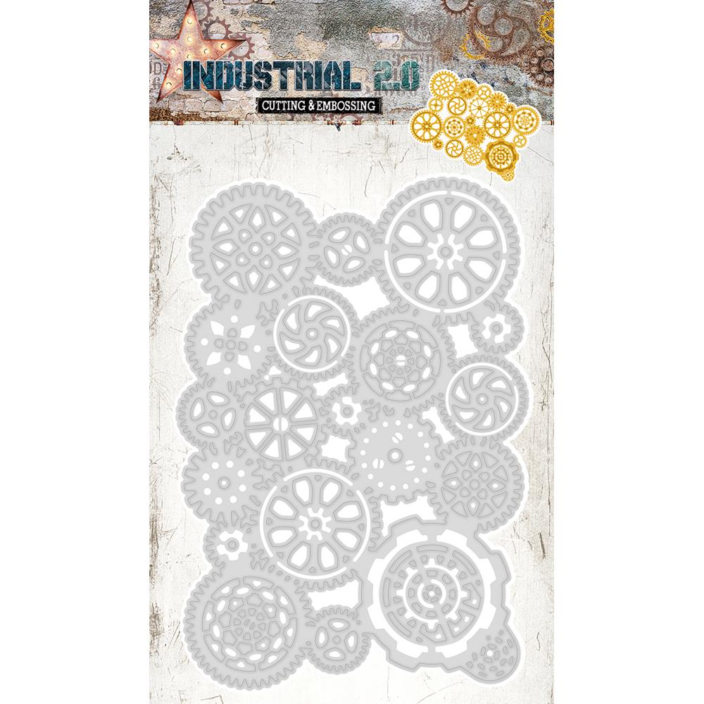 Studio Light -Industrial Cutting & Embossing Die-Gears
