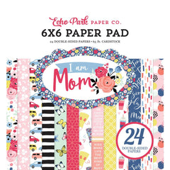 Echo Park - 6X6  Paper Pack - I am Mom