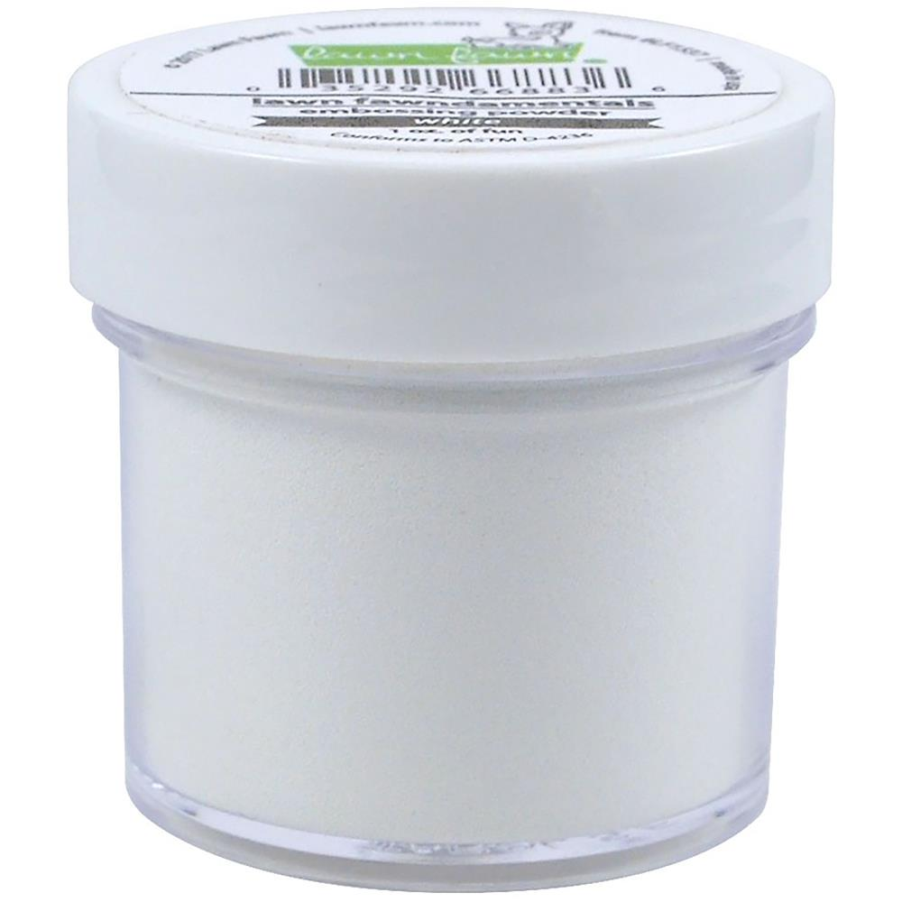 Lawn Fawn - Embossing Powder: Textured White