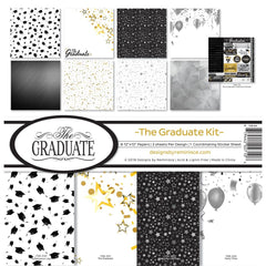 Reminisce - 12x12 Collection Kit - The Graduate