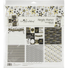 "Simple Stories-Simple Sets-Collection Kit- ConGRADulations 12""X12"""