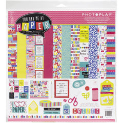 Photo Play - 12x12 Paper Pack - You Had me at paper