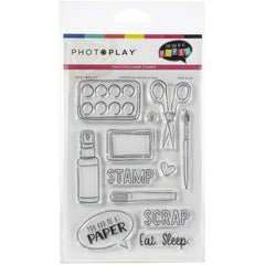Photo Play - Stamp and Die Combo - You Had me at paper