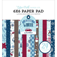 Echo Park Paper - 6x6 Paper Pad - My Favorite Winter