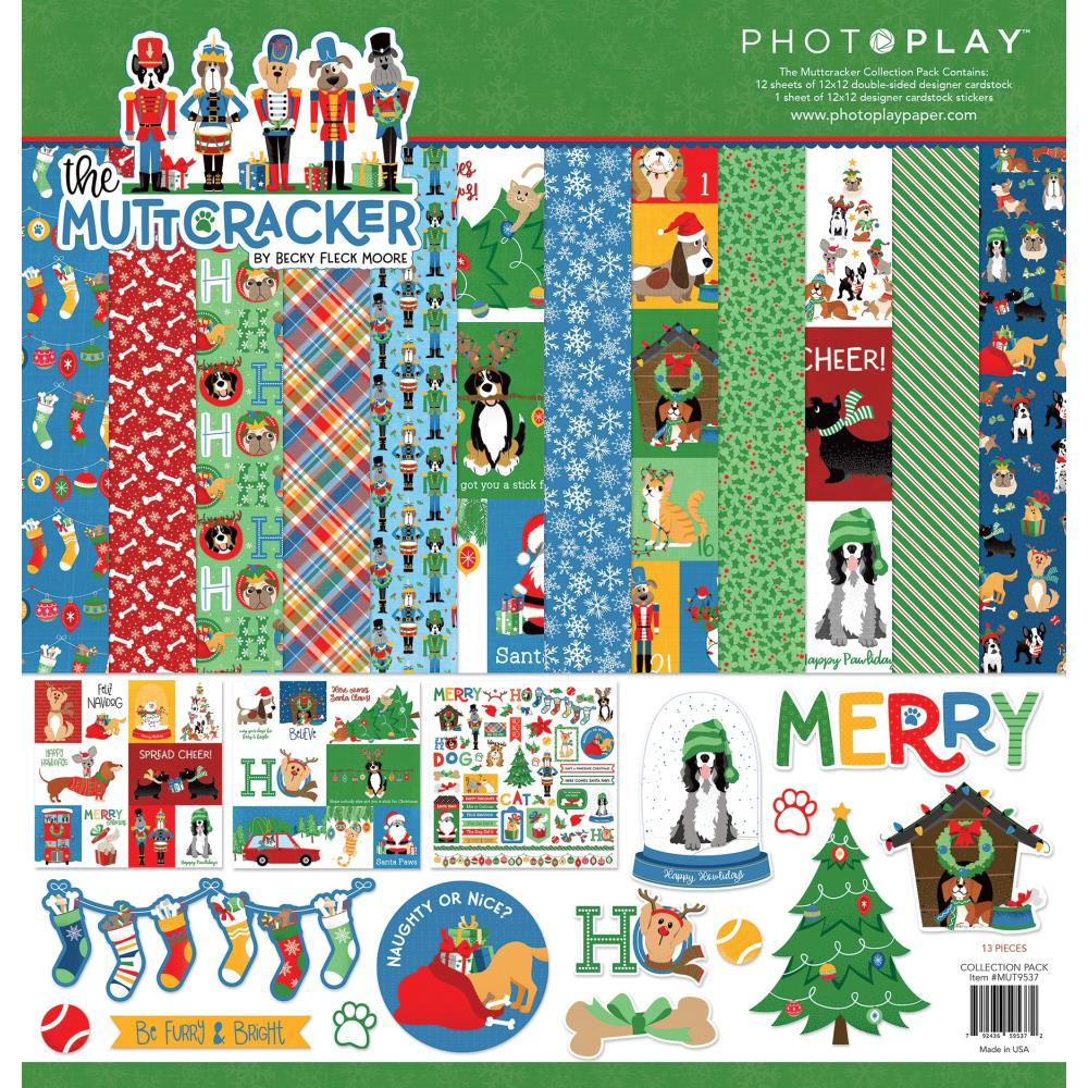 Photoplay Paper - 12x12 Collection Pack - The Mutcracker