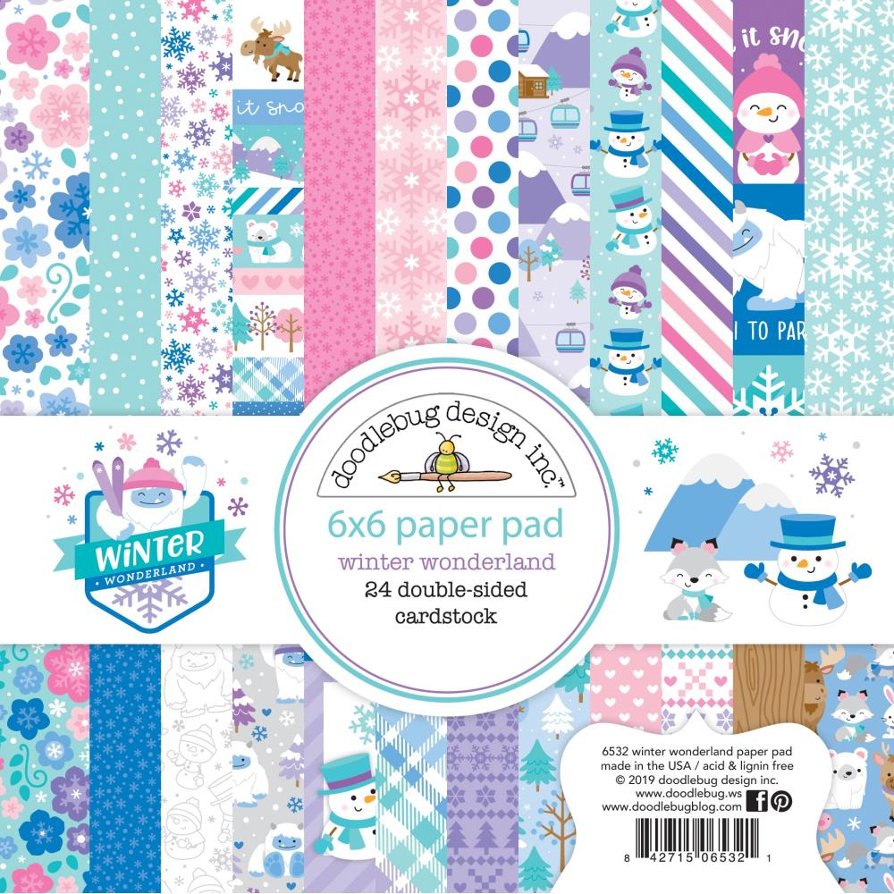Doodlebug Designs - 12 x 12 Collection Pack - Winter Wonderland