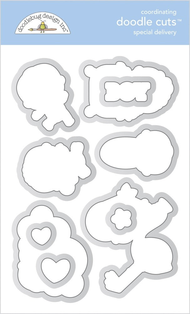 New Arrival- Doodlebug Designs - Doodle Cuts Dies - Special Delivery
