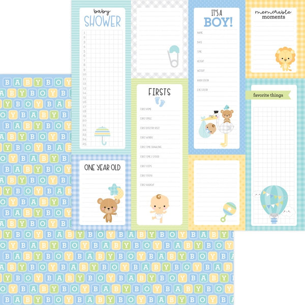 New Arrival-Doodlebug Designs - 12 x 12 Collection Pack -Special Delivery