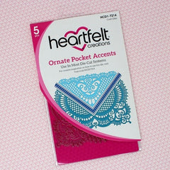 Heartfelt Creations-Ornate Pocket Accents