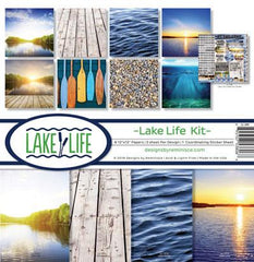 Reminisce - 12x12 Collection Kit - Lake Life