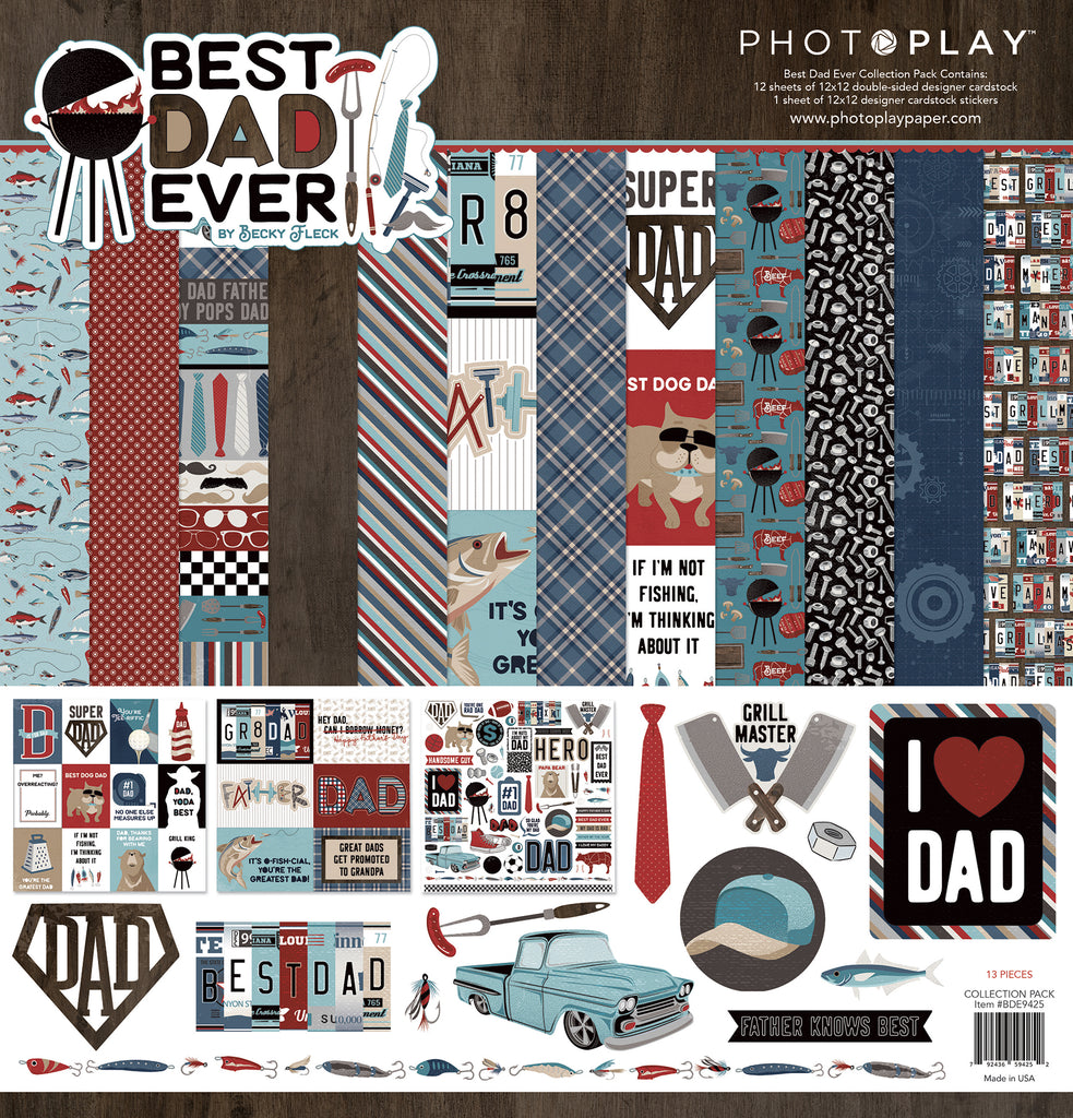 Photoplay -12X12 Collection Pack-Best Dad Ever