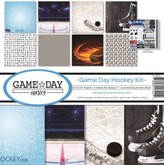 Reminisce 12x12 Game Day Hockey  Paper Pad