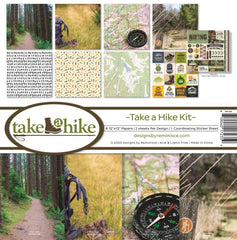 Reminisce 12x12 Take a Hike Paper Pad