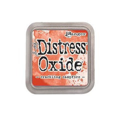 New Arrival- Tim Holtz- Distress Oxide Ink Pad- 3X3 inches  -Crackling Campfire