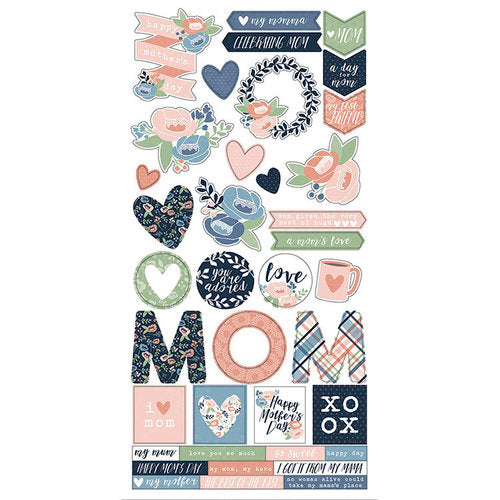 Simple Stories-  Simple Sets Collection Kit -Mom's Day