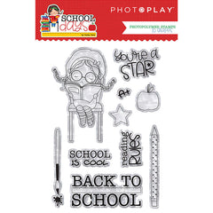 Photo Play Paper - School Days Collection - Stamp and die Bundle