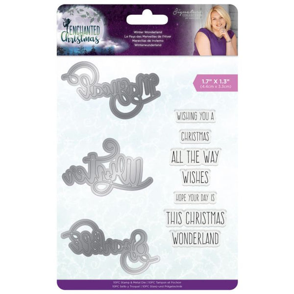 Sara Signature -Enchanted Christmas- Stamp & Die - Winter Wonderland