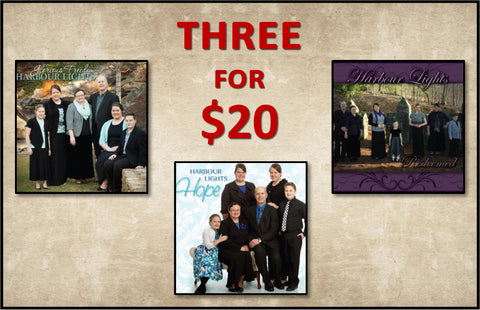 3 for $20 Bundle