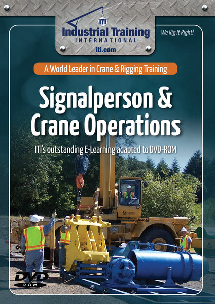 Signalperson & Crane Operations (E-Learning Adapted to DVD)