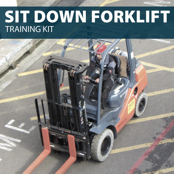 Forklift (Sit Down) Training Kit (CD or USB)